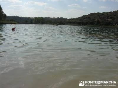 Baño en Lagunas de Ruidera; senda del oso